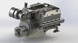 Cummins vt-903-m engine