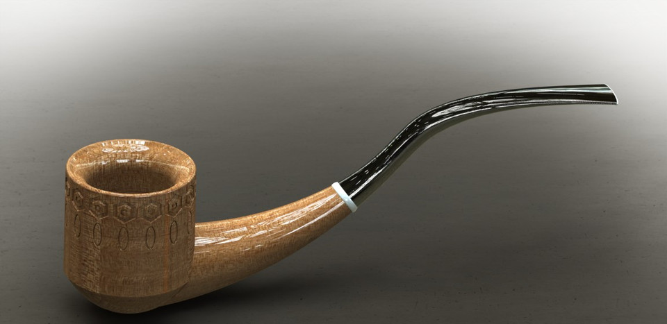 Smoking Pipe | 3D CAD Model Library | GrabCAD