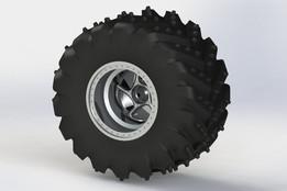 RC buggy wheel