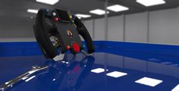 BloodhoundSSC Steering Wheel