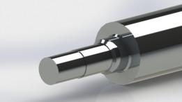 Hydraulic Cylinder Assembly: Stroke 1260mm