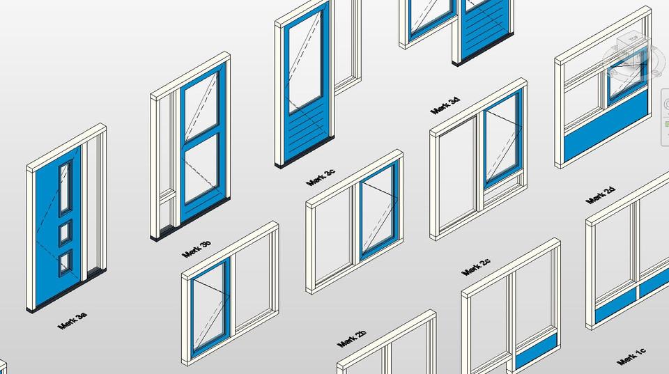 Revit Curtain Wall : Door download revit hager companies bim content quot sc