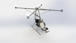 SFL-01 Quad Rotor-Craft Prototype