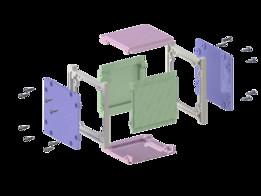 Cubesat Printed Box Assembly