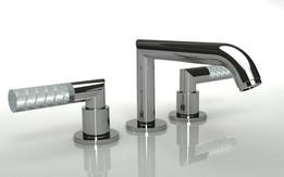 3 Point basin mixer tap