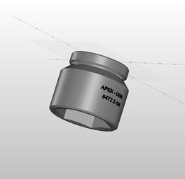 APEX HD 2-1/4 Impact Socket