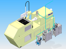 Dongfeng Honda injection molding machine feeder system