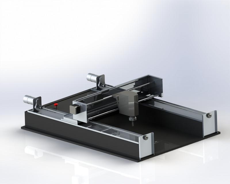 Mini CNC Mill | 3D CAD Model Library | GrabCAD