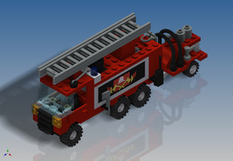 LEGO Town - Hook and Ladder Truck (6480)