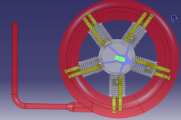 Radial Engine animation