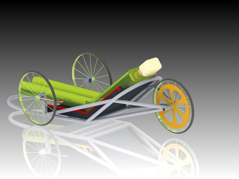 chassis design for shell eco marathon asia 2011 3d cad model library grabcad. Black Bedroom Furniture Sets. Home Design Ideas