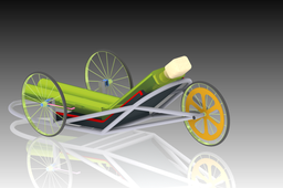 Chassis design for Shell Eco-Marathon asia 2011