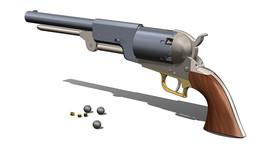 SOLIDWORKS, gun - Most downloaded models | 3D CAD Model