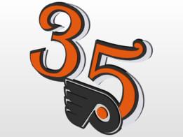 Philadelphia Flyers 35th Anniversary
