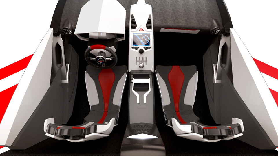 Ssc tuatara - interior design | 3D CAD Model Library | GrabCAD - photo#9