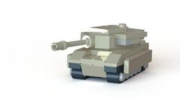 Lego Mini M1 Abrams Tank