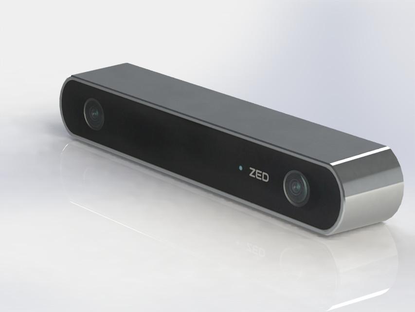 ZED camera | 3D CAD Model Library | GrabCAD