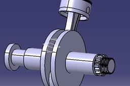 Monocylinderical engine