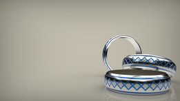 Platinum ring   Ring - iges attached