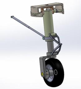 carrello anteriore pivotabile azionamento elettrico