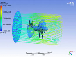 Propeller Flow Simulation