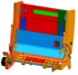 Epson Printer Paper Feed Assembly