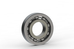 Bearing done in solidworks