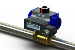 Bi-Torq Pneumatic Actuated Valve