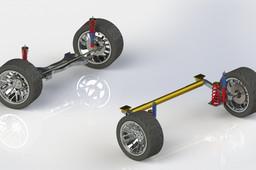 Full suspension prototype