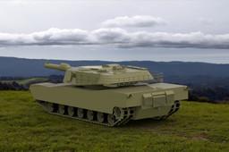 Battle tank M1A1 Abrams