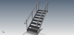 Escalera parametrizada con iLogic- Inventor 2016