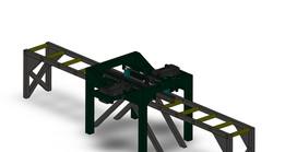 Straighten machine for metallic sections