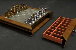 Playing chess animation
