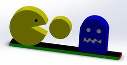 Pacman Desk Model