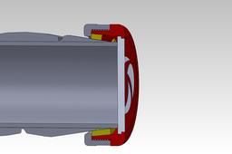 Handlebar tape fastener V3