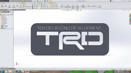 Toyota Racing Development TRD Logo