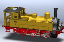 Württembergische T3 0-6-0 Steam locomotive