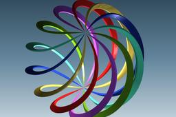 Spiral sphere