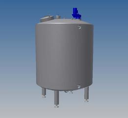Water mixing tank 8000l