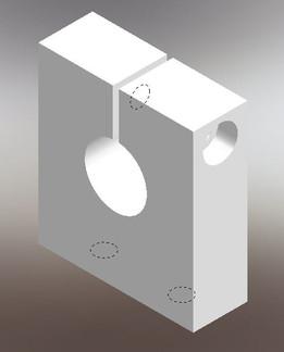 shaft support(16mm diameter)