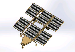 12 panels Portable Folding Solar System