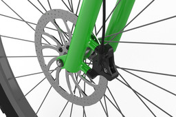 Student project of bicycle hydraulic disc brake