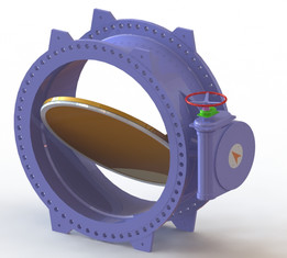 valve DN2500 PN25