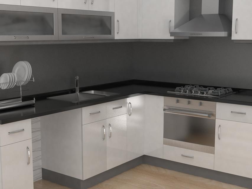 Kitchen Cupboard 3d Cad Model Library Grabcad
