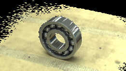 6001 Bearing used in BK12 Ballscrew Support