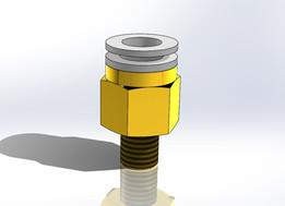 "Adapter G1/8"" - Push-In Ø10"