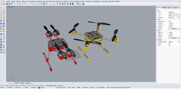 Quadcopter Drone Uav Pro - x1