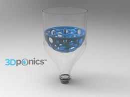 Grow Media Basket V1 - 3Dponics Drip Hydroponics System