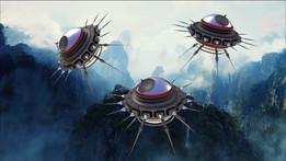 Extraterrestrial Drones (Seeker-Hunter)
