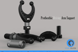 Prothesthic Driving Arm Support